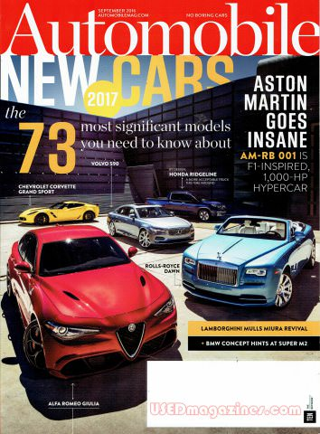Automobile September 2016