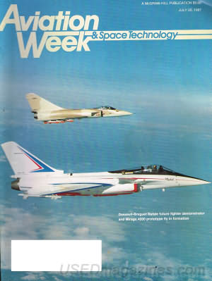 Aviation Week & Space Technology July 20, 1987