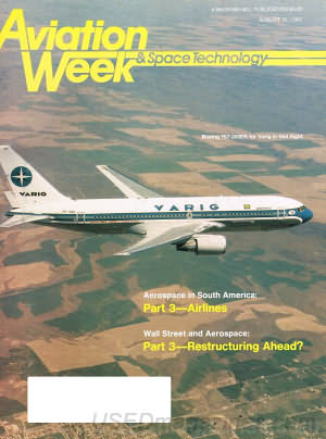 Aviation Week & Space Technology August 31, 1987