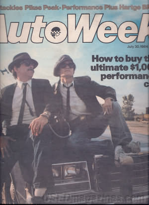 AutoWeek July 30, 1984