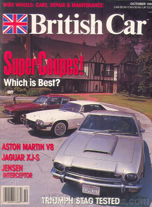 British Car October 1991