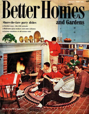 Better Homes and Gardens January 1960