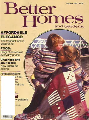 Better Homes and Gardens October 1981