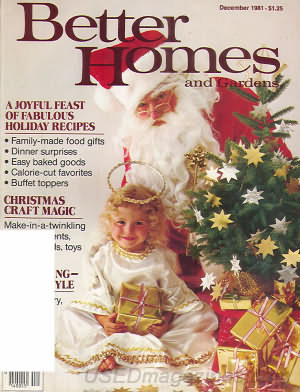 Better Homes and Gardens December 1981