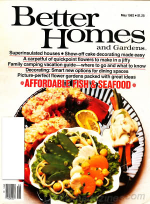 Better Homes and Gardens May 1982