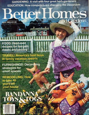 Better Homes and Gardens April 1983