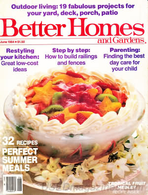 Better Homes and Gardens June 1984