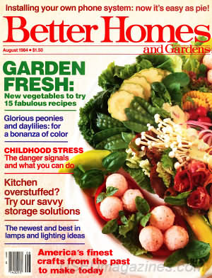 Better Homes and Gardens August 1984