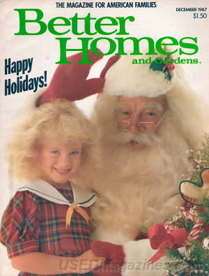 Better Homes and Gardens December 1987