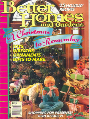 Better Homes and Gardens December 1989