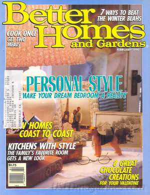 Better Homes and Gardens February 1990