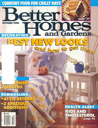Better Homes and Gardens October 1990