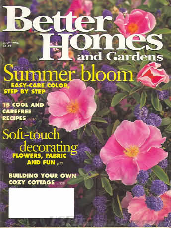 Better Homes and Gardens July 1994