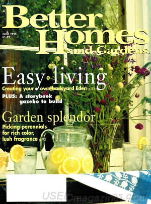 Better Homes and Gardens June 1995