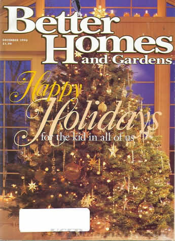 Better Homes and Gardens December 1996