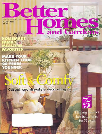 Better Homes and Gardens March 1997