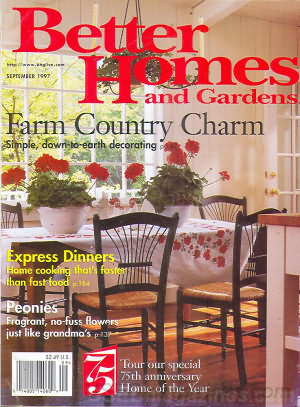 Better Homes and Gardens September 1997