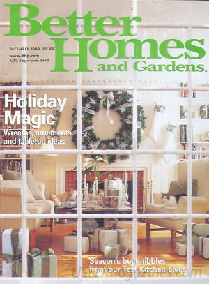 Better Homes and Gardens December 1999