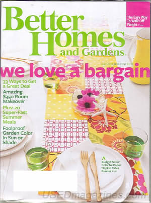Better Homes and Gardens July 2010