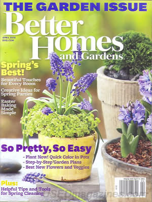 Better Homes and Gardens April 2012