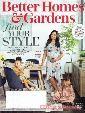 Better Homes and Gardens September 2018