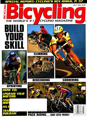 Bicycling July 1993