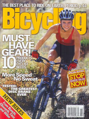 Bicycling November 2003
