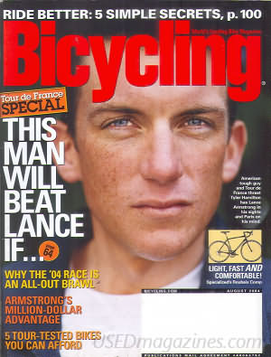 Bicycling August 2004
