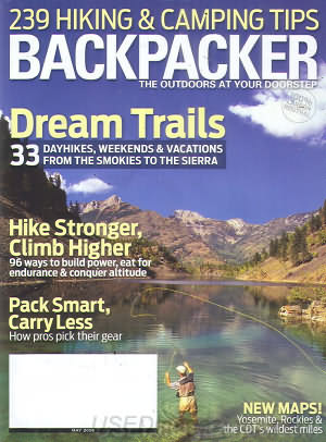 Backpacker May 2008