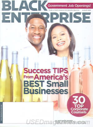 Black Enterprise August 2009