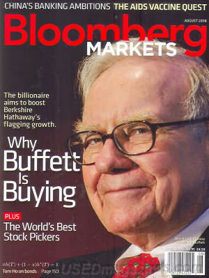 Bloomberg Markets August 2008