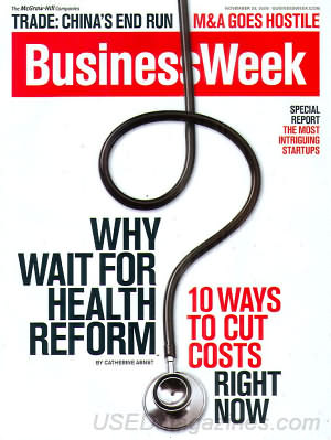 Business Week November 23, 2009