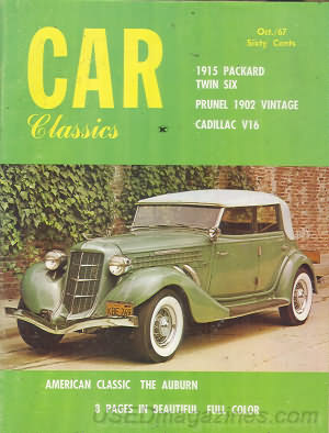 Car Classics October 1967