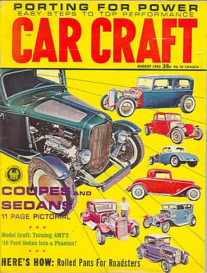 Car Craft August 1963