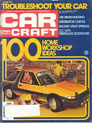 Car Craft January 1976