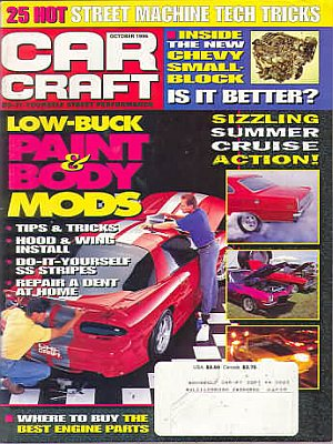Car Craft October 1996