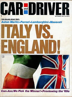 Car and Driver September 1968