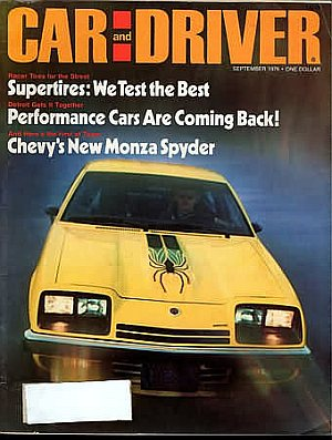Car and Driver September 1976
