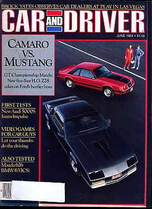 Car and Driver June 1983