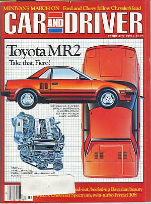 Car and Driver February 1985