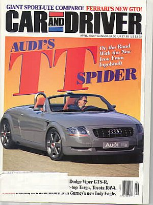 Car and Driver April 1996