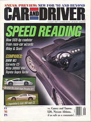 Car and Driver August 1997