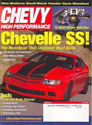 Chevy High Performance April 2004