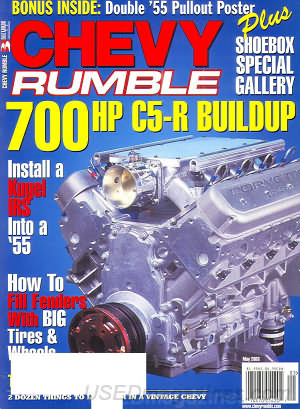Chevy Rumble May 2003