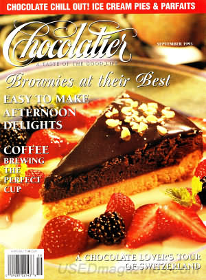 Chocolatier September 1995