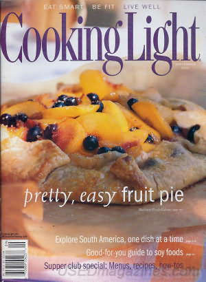Cooking Light September 2001