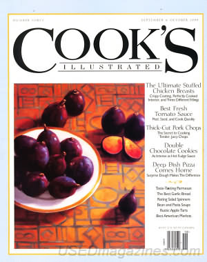 Cook's Illustrated September/October 1999