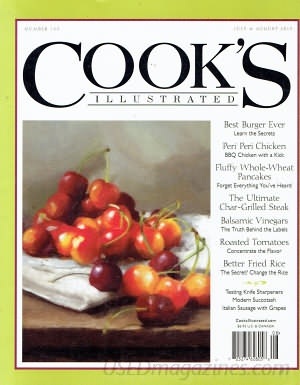 Cooks Illustrated July/August 2015