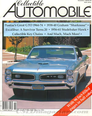 Collectible Automobile Volume 1 Number 4