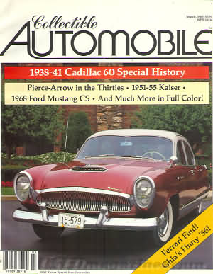 Collectible Automobile Volume 1 Number 6